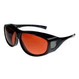 Fit Over-Glasses Grande Shatterproof Sunglasses with Copper Lenses Large Size