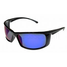 BadAss Carver Polarised Sunglasses Blue-Revo Lenses ML