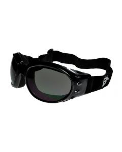 Birdz Eagle Sports Motorcycle Goggles Black/Smoke ML