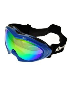 Birdz Ice Bird Ski Goggles Blue/Revo ML