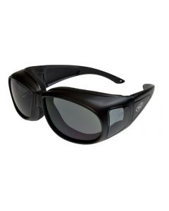 Global Vision Outfitter Padded Fitover Glasses Black/Smoke M
