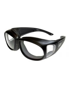 Global Vision Outfitter Padded Fitover Glasses Black/Clear M