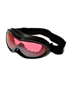 Birdz Talon Ski Goggles Black/Rose-Mirror SM