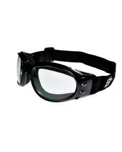Birdz Eagle Rx Prescription Sports Motorcycle Goggles Black/Clear ML