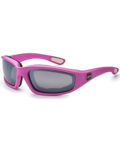 Choppers Padded Sunglasses 8CP901 Pink/Smoke-Mirror M