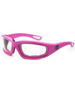 Choppers Padded Sunglasses 8CP901 Pink/Clear M