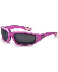 Choppers Padded Sunglasses 8CP901 Pink/Smoke M