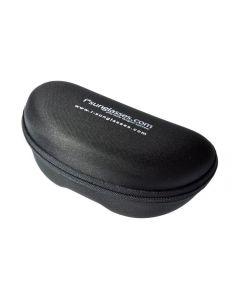 i*sunglasses Black Rigid Zipper Sports Sunglasses Case - Extra Large