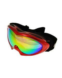 Birdz Ice Bird Ski Goggles Red/Revo ML
