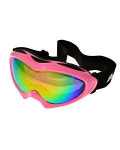 Birdz Ice Bird Ski Goggles Pink/Revo ML
