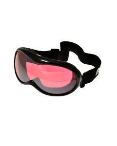 Birdz Talon Kids Ski Goggles Black/Rose