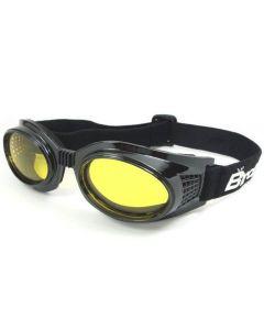Birdz Kite Twin Eye Sports Goggles Black/Yellow ML