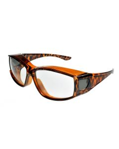 Fit Over-Glasses Medio Photochromic Sunglasses Tortoiseshell/Clear2Smoke Medium