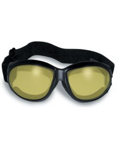 Global Vision Eliminator 24YT Yellow-Photochromic Goggles Front View