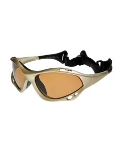 BadAss Cyclone Floating Polarised Sunglasses Bronze Lenses ML