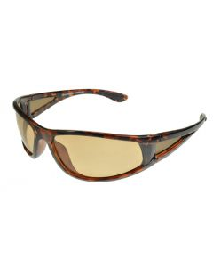 Badical One-Eighty Wraparound Polarised Sunglasses Tortoiseshell/Brown-Photochromic ML Light Brown Lenses