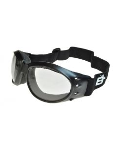 Birdz Eagle 24 Photochromic Sports/Motorcycle Goggles Black/Clear ML