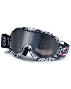 Dirty Dog Rack Ski Goggles Tribal/Smoke L