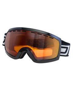 Dirty Dog Elevator Ski Goggles Black/Orange Photochromic ML