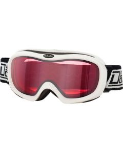 Dirty Dog Scope Ski Goggles White/Rose-Mirror ML