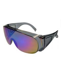 Fit-Over Glasses Mirror 3001CM Crystal-Grey/Blue-Revo XL