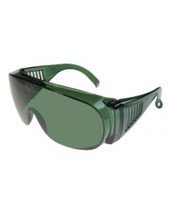 Fit-Over Glasses Sun Shield 3001G Green Extra Large XL