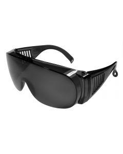 Fit-Over Glasses Super-Dark 3001SD Crystal-Grey/Smoke XL