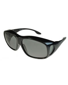 Fit-Over Sunglasses Polarised 3010PL Smoke Lenses Extra Large XL