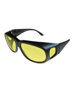 Fit-Over Glasses Non-Polarised Night Driver 3015ND Yellow Lenses Extra Large XL