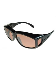Fit-Over Sunglasses Polarised 3735PL Copper Driving Lenses Large Size