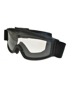 Global Vision Ballistech 3 Motorcycle Ballistic Safety Goggles Black/Clear ML