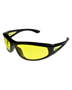 Global Vision Integrity 2 Safety Sunglasses Black/Yellow ML