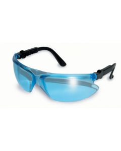 Global Vision Mark Rimless Wraparound Safety Sunglasses Blue