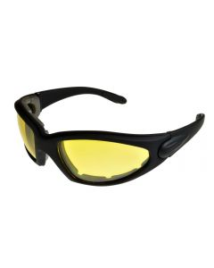 BadAss Joyrider Padded Sunglasses Black/Yellow ML