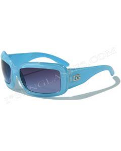 DG Kids Fashion Sunglasses 2524 Blue/Smoke XS