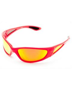 FishGillz KeyWest Polarised Sunglasses Red/Fire-Revo M
