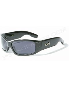 Locs 9006 Urban Sunglasses Black/Black ML