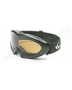 Virage Rainbow Ski Goggles Black/Amber ML