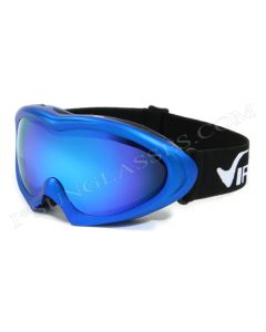 Virage Rainbow Ski Goggles Blue/Blue-Revo Mirror ML