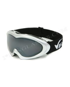 Virage Rainbow Ski Goggles Silver/Smoke ML
