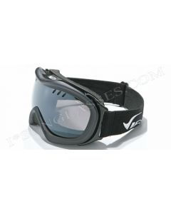 Virage Aerial Ski Goggles Black/Smoke ML