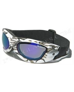 Virage Slalom White-Camo/Blue-Revo ML