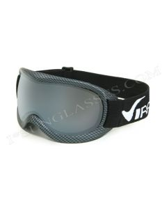 Virage VR12 Ski Goggles Carbon/Smoke ML