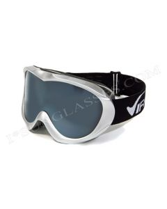 Virage VR15 Ski Goggles Silver/Smoke ML