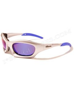 Virage Speedstar Padded Sunglasses VM29 Silver/Blue-Revo ML