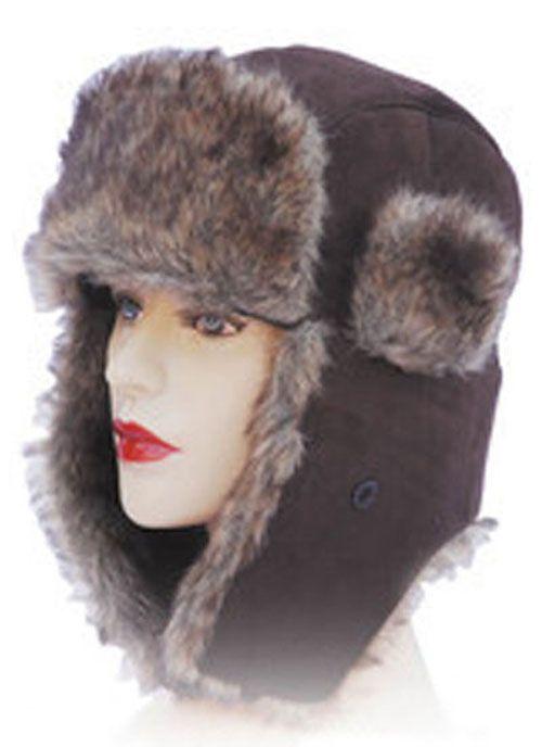 Ladies Trapper Hat - Brown