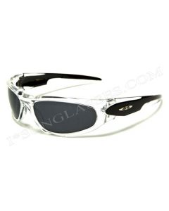 X-Loop Sports Sunglasses 8X2090 Crystal-Black/Smoke ML