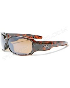 X-Loop Squared Sunglasses XL2133 Brown/Brown ML